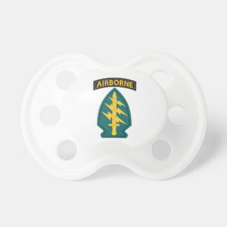Special Forces with Tab Baby Pacifiers