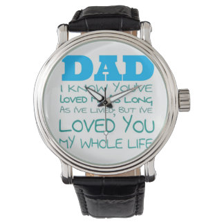 Special Gift for Dad Wrist Watches