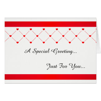 Special Greetings Card