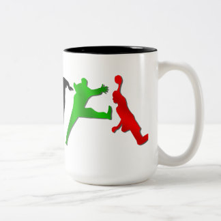 Special handball players handball mug