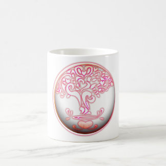 special heart design creation color coffee mug