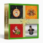 Special Holiday Planner Vinyl Binders