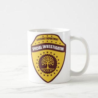 Special Investigator Coffee Mug