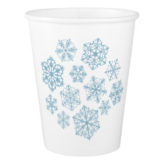 Special Little Snowflakes paper cups Paper Cup