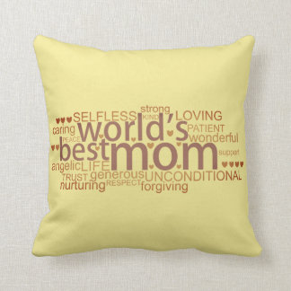 special message gift for 'best mom' Pillows