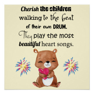 Special Needs Kids Inspirational, Heart Songs Poster