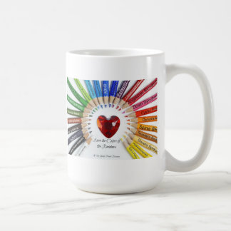 Special Needs Love the Colors Mug