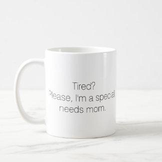 Special needs mom mug