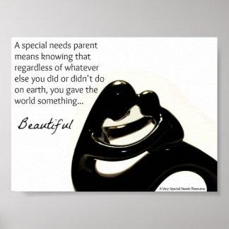 Special Needs Parent Poster