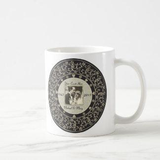 Special Occasion Customizable Wedding Photo Frame Classic White Coffee Mug