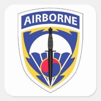 Special Operations Command Korea Square Sticker