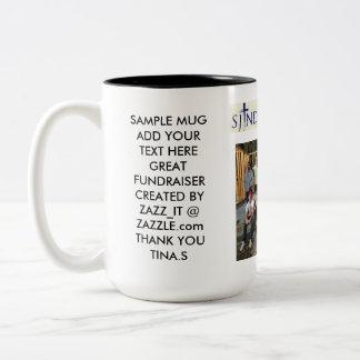 Special Order Saint Joseph Notre Dame Two-Tone Coffee Mug