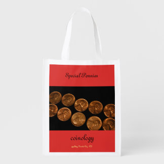 Special Pennies Reusable shopping bag