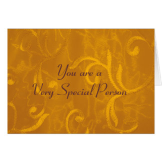 Special Person Card