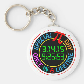 Special Pi Day 2015 Key Chains