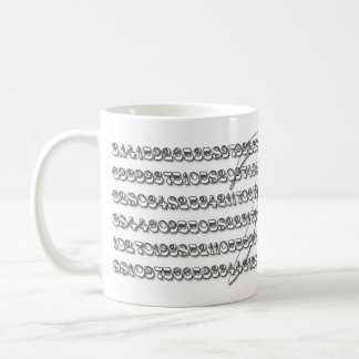 Special Pi Mug for Math Geeks