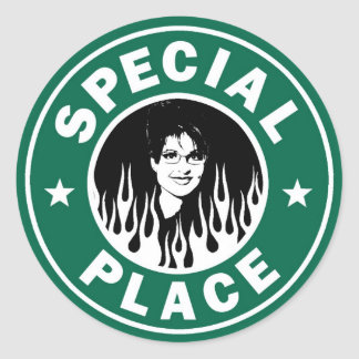 Special Place In Hell Round Sticker