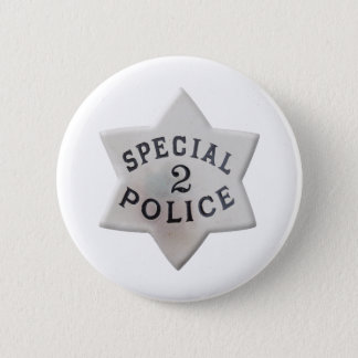 Special Police 2 Inch Round Button