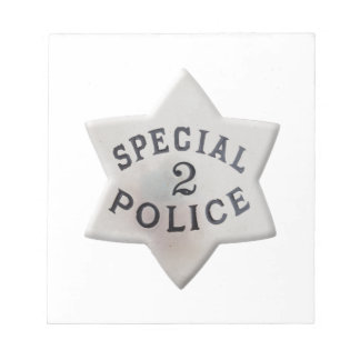 Special Police Notepad