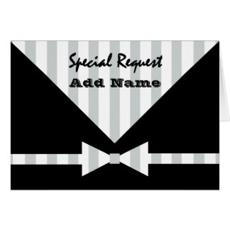 Special Request Wedding Party ANY ROLE V03 Greeting Card
