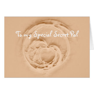 Special Secret Pal Greeting Card