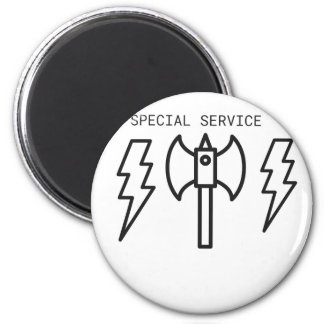 Special Service 2 Inch Round Magnet