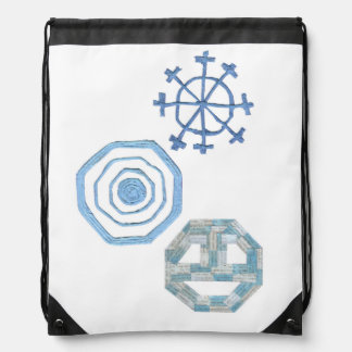 Special Snowflake Drawstring Bag