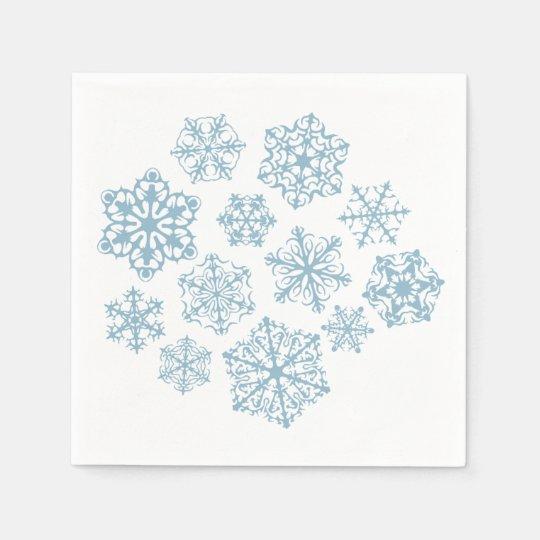 Special Snowflake napkins Paper Napkins