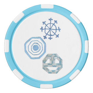 Special Snowflake Poker Chips