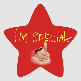 special star star sticker