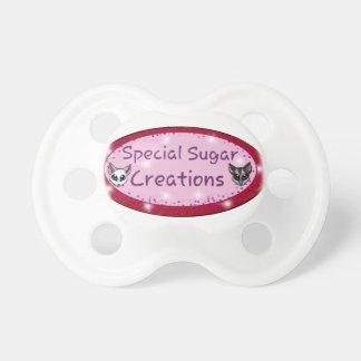 Special sugar creations Logo Baby Pacifier