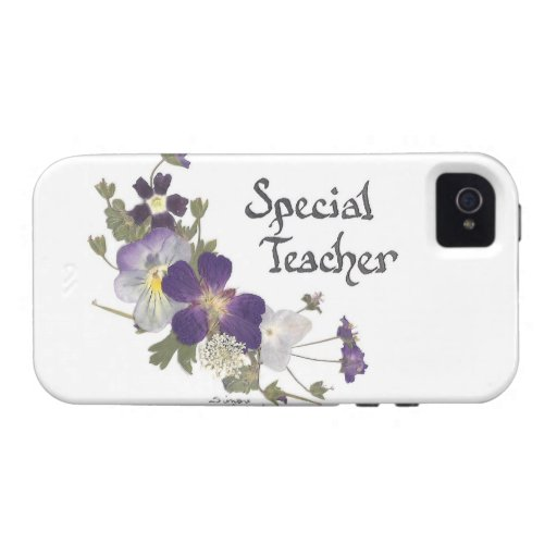Special Teacher Vibe iPhone 4 Covers
