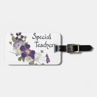 Special Teacher Luggage Tag