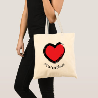 Special Valentine tote bag