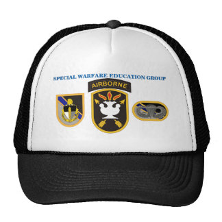 SPECIAL WARFARE EDUCATION GROUP HAT