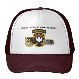 SPECIAL WARFARE MEDICAL GROUP HAT