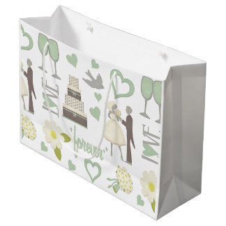 Special Wedding Day Images Large Gift Bag