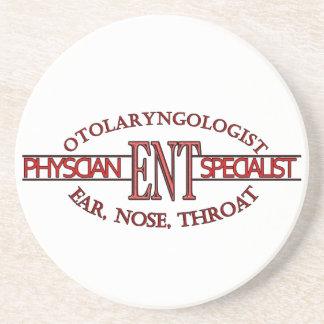 SPECIALIST ENT Otolaryngology Ear Nose Throat LOGO Beverage Coaster