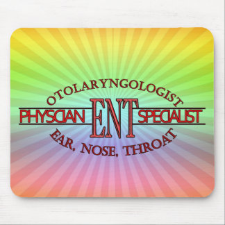 SPECIALIST ENT Otolaryngology Ear Nose Throat LOGO Mouse Pad