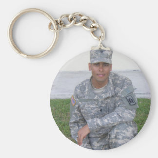 Specialist, National Guard Keychain