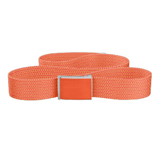 Specialty Designed Custom Belt (Orange Crush)