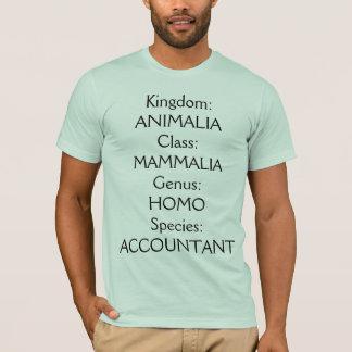 """Species: Accountant"" T-Shirt"