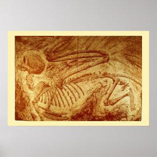 Specimen #2: Sphinx Fossil Poster