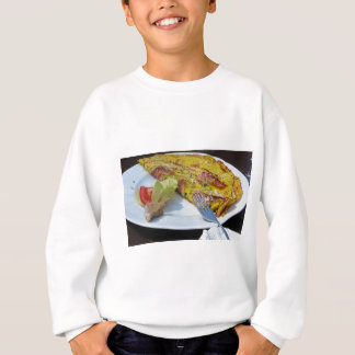 Speck and cheese omelet sweatshirt