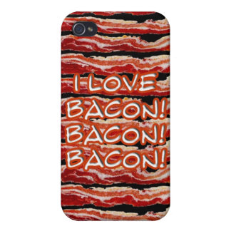 Speck Case- I Love Bacon Case For The iPhone 4