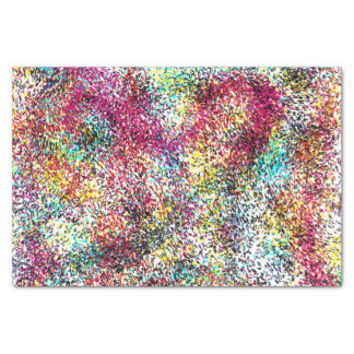 Speckle Of Colors Tissue Paper