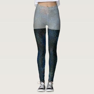 Speckled Blue Leggings