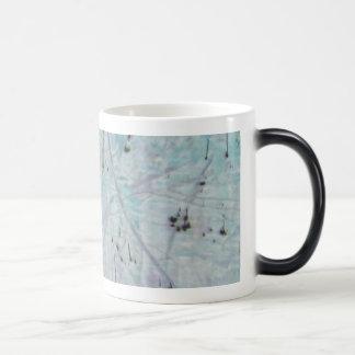 Speckled Blue Mugs