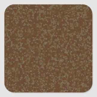 Speckled Brown Square Envelope Seals