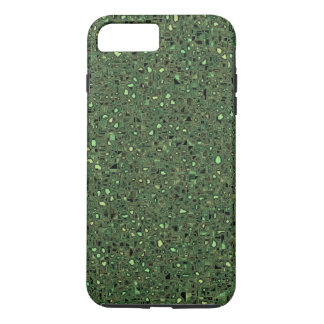 Speckled Computer Circuit Board Pattern Texture iPhone 7 Plus Case